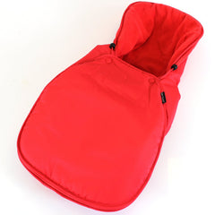 Universal Carseat Footmuff Liner Fleeced - Warm Red - Baby Travel UK  - 1