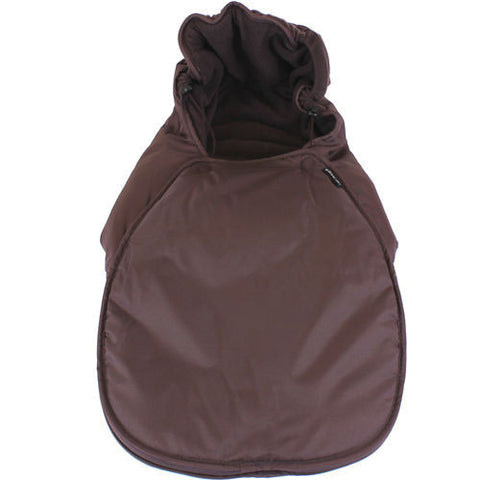 Universal Carseat Footmuff - Hot Chocolate
