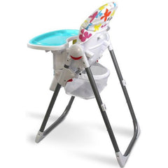i-Safe Mama Highchair Le Fleurs Low Chair Recline - Baby Travel UK  - 5