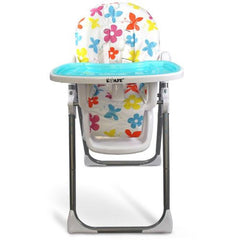 i-Safe Mama Highchair Le Fleurs Low Chair Recline - Baby Travel UK  - 4