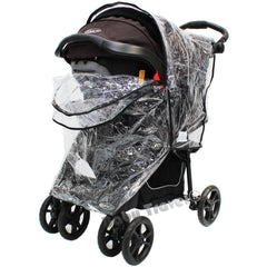 Rain Cover To Fit Safety 1st Stroller Travel System Rain Cover - Baby Travel UK  - 2