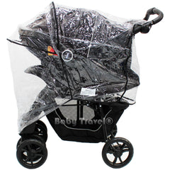 Rain Cover To Fit Safety 1st Stroller Travel System Rain Cover - Baby Travel UK  - 4
