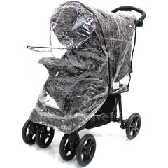 Rain Cover To Fit Safety 1st Stroller Travel System Rain Cover - Baby Travel UK  - 6