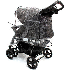 Rain Cover To Fit Safety 1st Stroller Travel System Rain Cover - Baby Travel UK  - 8