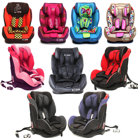 iSAFE Isofix Duo Trio Plus Isofix Top Tether Car Seat