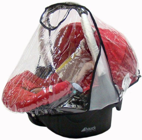 Rain Cover To Fit Hauck 0+ Carseat - Baby Travel UK  - 1