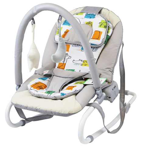 iSafe Baby Bouncer Rocker Feeding Relaxing Chair From Birth (Noah)