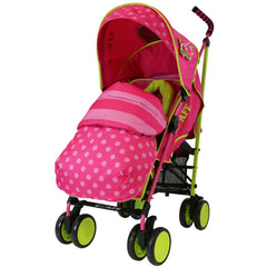 SALE!!! iSafe Stroller - Mea LUX Complete With Footmuff Headhugger, Raincover