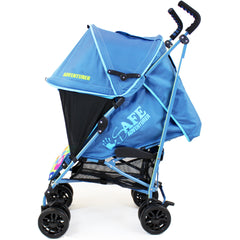 iSafe buggy Stroller Pushchair - Adventurer (Complete With Footmuff, Bumper Bar & Rain cover) - Baby Travel UK  - 5