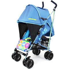 iSafe buggy Stroller Pushchair - Adventurer (Complete With Footmuff, Changing Bag, Bumper Bar & Rain cover) - Baby Travel UK  - 7