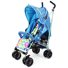 iSafe buggy Stroller Pushchair - Adventurer (Complete With Footmuff, Changing Bag, Bumper Bar & Rain cover) - Baby Travel UK  - 11