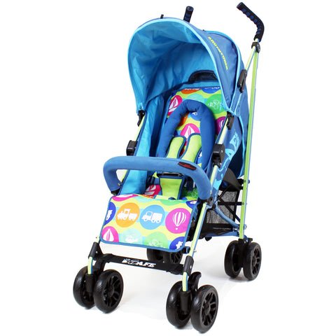 iSafe buggy Stroller Pushchair - Adventurer (Complete With Bumper Bar & Rain cover)