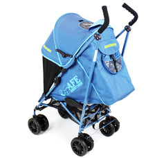 iSafe buggy Stroller Pushchair - Adventurer (Complete With Footmuff, Changing Bag, Bumper Bar & Rain cover) - Baby Travel UK  - 5