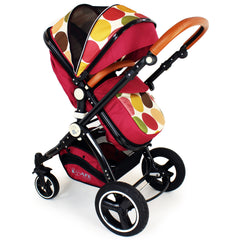 iSafe Baby Pram System 3 in 1 Complete With Bedding - C&M Designs Complete Package - Baby Travel UK  - 4