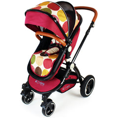 iSafe Baby Pram System 3 in 1 Complete With Bedding - C&M Designs Complete Package - Baby Travel UK  - 5