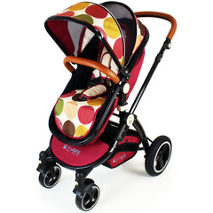iSafe Baby Pram System 3 in 1 Complete With Bedding - C&M Designs Complete Package - Baby Travel UK  - 6