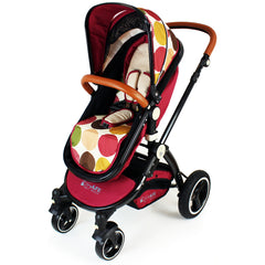 iSafe C&M Design 3in1 Complete Trio Travel System Pram & Luxury Stroller - Baby Travel UK  - 8