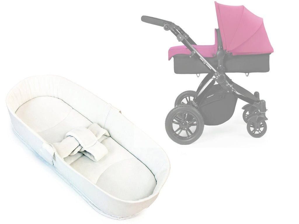 iSafe Luxury Bedding Suitable for ickle bubba Stomp V2 Black 2-in-1 Pushchair (Pink) - Baby Travel UK  - 1