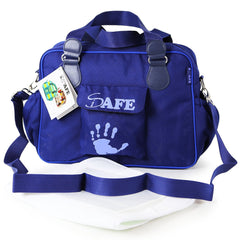 iSafe Changing Bag Luxury Quality - Navy (Navy/Navy) - Baby Travel UK  - 1