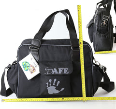 iSafe Changing Bag Luxury Quality - Navy (Navy/Navy) - Baby Travel UK  - 4