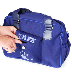 iSafe Changing Bag Luxury Quality - Navy (Navy/Navy) - Baby Travel UK  - 7