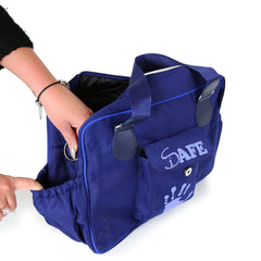 iSafe Changing Bag Luxury Quality - Navy (Navy/Navy) - Baby Travel UK  - 9