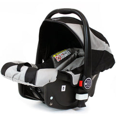 iSafe Infant Carseat Group 0+ - Black - Baby Travel UK  - 2