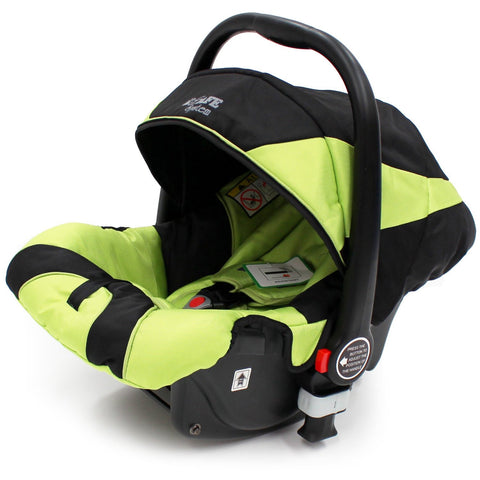 iSafe Infant Carseat Group 0+ - Lime For iSafe Pram System