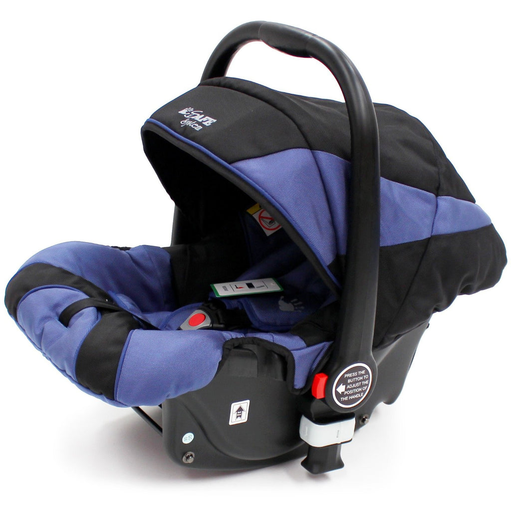 iSafe Infant Carseat Group 0+ - Navy For iSafe Pram System - Baby Travel UK  - 1