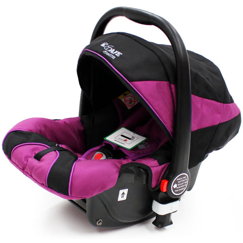 iSafe Infant Carseat Group 0+ - Plum For iSafe Pram System