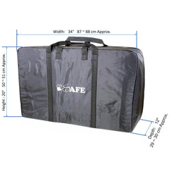 Double Travel Bag Luggage Heavy Duty Design To Fit Nipper Double 360 Buggy Travel Tote - Baby Travel UK  - 2