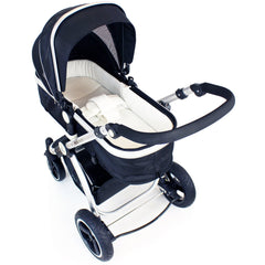 iSafe Luxury Bedding Suitable for ickle bubba Stomp V2 Black 2-in-1 Pushchair (Black) - Baby Travel UK  - 6