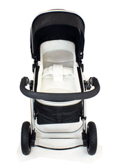 iSafe Luxury Bedding Suitable for ickle bubba Stomp V2 Black 2-in-1 Pushchair (Black) - Baby Travel UK  - 7