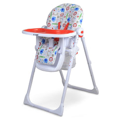 iSafe MAMA Highchair - Serengetti Recline With Double Tray & Storage Basket - Baby Travel UK  - 3