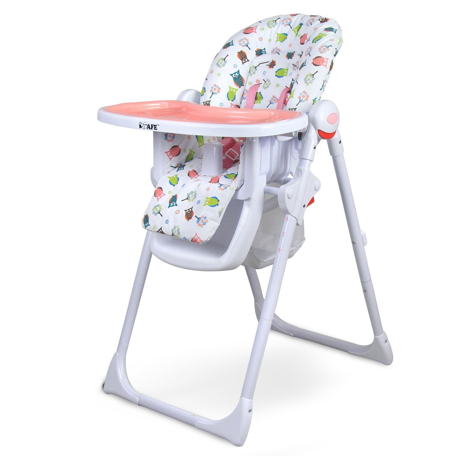 ISafe MAMA Highchair   Twilight Recline Compact With Double Tray U0026 Storage  Basket   Baby Travel
