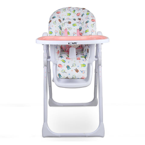 iSafe MAMA Highchair - Twilight Recline Compact With Double Tray & Storage Basket