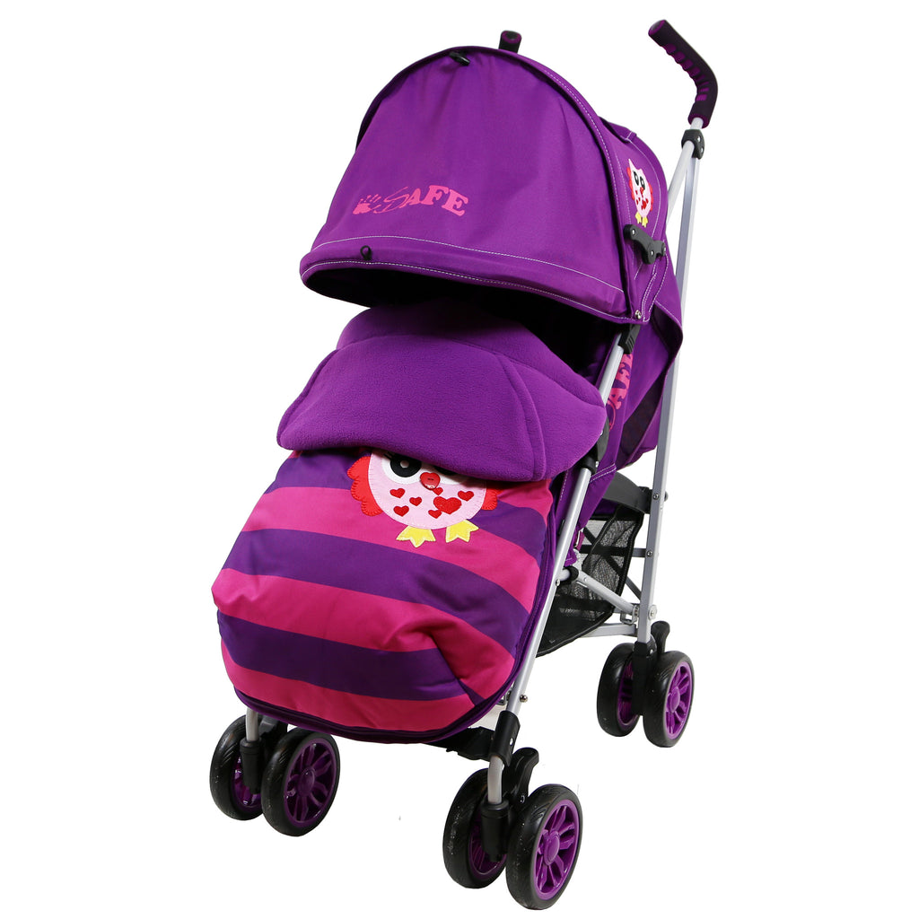 (Limited Edition) i-Safe Baby Stroller Owl & Button Complete - Baby Travel UK  - 7