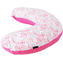 iSafe Mini Nursing Maternity Pillow Bed Of Roses + Vacuum Storage Bag + Pillow Case … - Baby Travel UK  - 2
