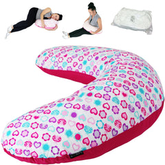 iSafe Maternity Pillow Love Bug + Vacuum Storage Bag + Pillow Case - Baby Travel UK  - 1