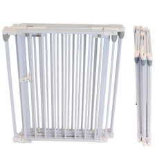 iSafe Metal Baby Playpen 3in1 Fire Guard Room Divider Safety Gate - Baby Travel UK  - 9