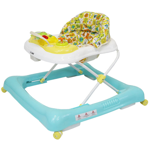 iSafe Play Time PLUS Baby Walker - Yellow/Blue