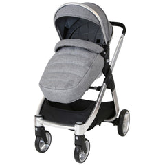 Marvel 3in1 Pram - Dove Grey Pram Travel System (+ Luxury Carrycot + Car Seat) - Baby Travel UK  - 7