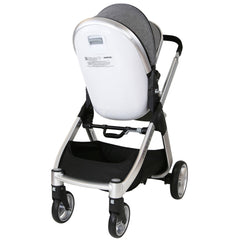 Marvel 3in1 Pram - Dove Grey Pram Travel System (ISOFIX Base + Luxury Carrycot + Car Seat+ x2 Raincovers + x2 Footmuffs) - Baby Travel UK  - 10