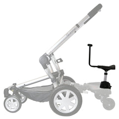 iSafe SegBoard Buggy Board Sit Or Step Pram Board - Splash Complete With Saddle Seat - Baby Travel UK  - 5