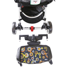 iSafe SegBoard Buggy Board Sit Or Step Pram Board - Bubble Complete With Saddle Seat - Baby Travel UK  - 3