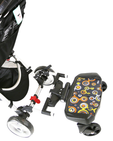 iSafe SegBoard Buggy Board Sit Or Step Pram Board - Bubble