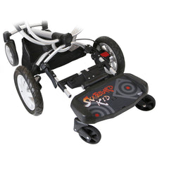 iSafe SegBoard Buggy Board Sit Or Step Pram Board - Swirl - Baby Travel UK  - 12