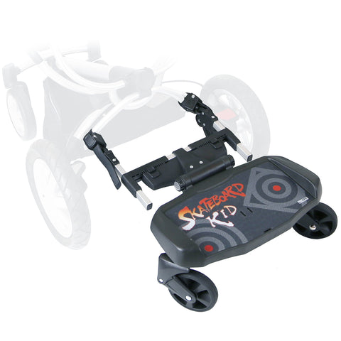 iSafe SegBoard Buggy Board Sit Or Step Pram Board - Inca