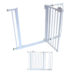10 cm EXTENSION For iSafe DeLuxe Stair Gate 90° STOP OPEN - Baby Travel UK  - 10