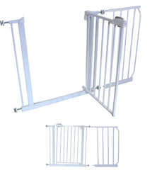 20 cm EXTENSION For iSafe DeLuxe Stair Gate 90° STOP OPEN - Baby Travel UK  - 11